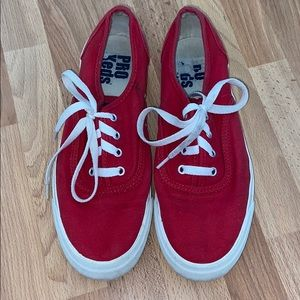 Red Keds Shoes
